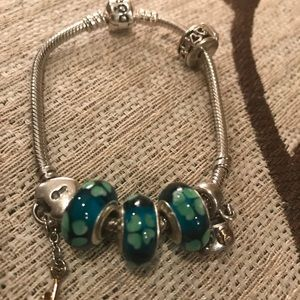 Jewelry - Authentic Pandora bracelet sterling silver